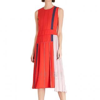 Sportmax sleeveless colour-block dress