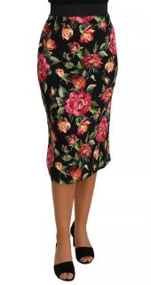 Dolce & Gabbana floral-print pencil skirt