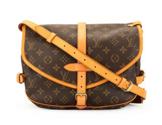 Louis Vuitton Saumur 35 M42254 Monogram Shoulder Bag