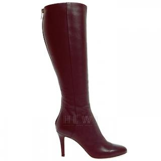 Jimmy Choo Grand Tall leather knee-high boots