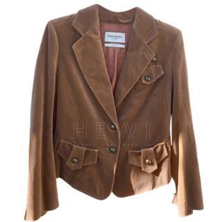 Yves Saint Laurent velvet blazer, size 40