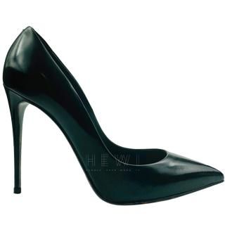 Dolce & Gabbana Black Leather Stiletto Pumps