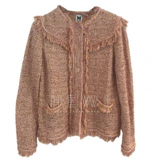M Missoni Metallic Knit Jacket
