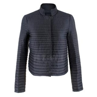 Moncler Lans Navy Lightweight Quilted-Down Jacket