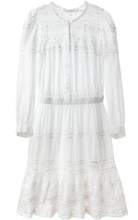 Isabel Marant Greta Embroidered Dress