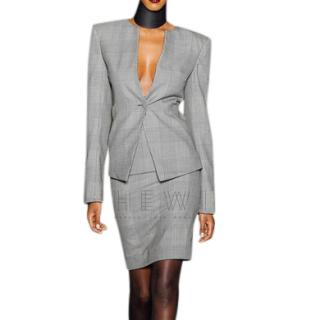 Gareth Pugh Prince of Wales Checked Wool Blazer