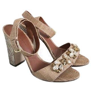 Dolce & Gabbana embellished strap sandals