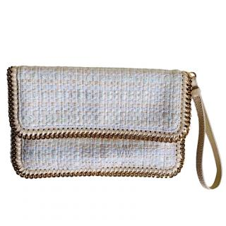Stella McCartney Falabella boucle envelope clutch