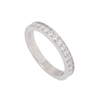 Cartier Platinum Eternity Diamond Wedding Band