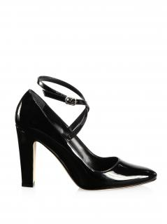 Manolo Blahnik Majusa 105 Patent Leather Pumps