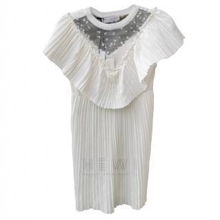 Philosophy di Lorenzo Serafini pleated white dress