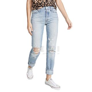 Mother The Trickster Distressed Jeans