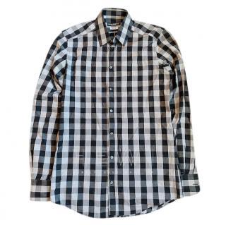 Dolce & Gabbana Johnny Gold-fit cotton-blend shirt