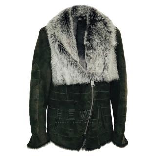 Jessimara brown lambskin jacket