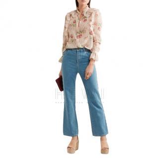 Chloe Scallop Trim Jeans