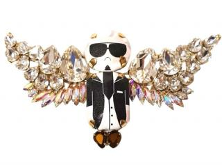 Bijoux De Famille Karl Lagerfeld necklace