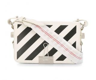 Off White c/o Virgil Abloh diagonal stripe Binder bag