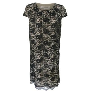 Gerrard Darel black lace shift dress