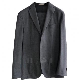 Boglioli single breasted grey suit