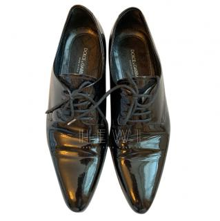 Dolce & Gabbana Patent Leather Brogues