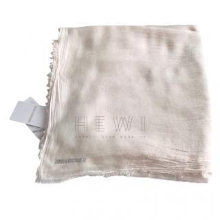 Zadig & Voltaire lightweight-knit scarf