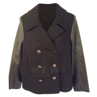 Gerard Darel Wool & Leather Jacket