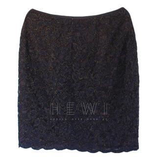 Emanuel Ungaro Lace Skirt