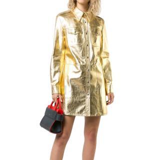 Calvin Klein 205W39nyc Uniform Shirt Dress