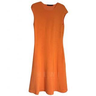 Ralph Lauren Orange Swing Dress, size Small