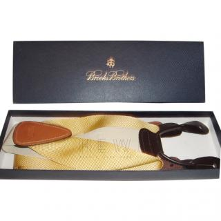Brooks Brothers Yellow Suspenders