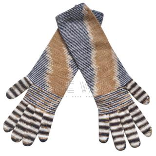 Missoni Sport Knit Gloves