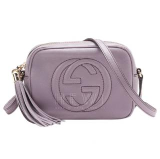 Gucci Soho Leather Disco Bag in Senanque