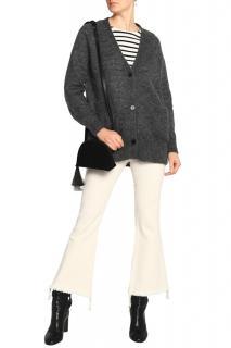Isabel Marant grey mohair blend cardigan