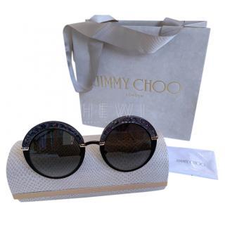 Jimmy Choo Gotha Round Sunglasses