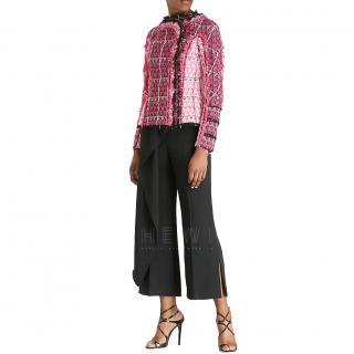 Roland Mouret Pink Tweed Jacket