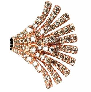 Le Vian 1.30ct Diamond Winged Rose Gold Ring