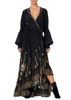 Camilla Rebelle Rebelle Blouson Sleeve Wrap Dress