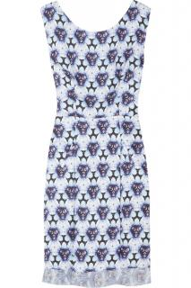 Acne kaleidoscope print shift dress