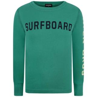 Dsquared2 Boys Green Long Sleeve Top
