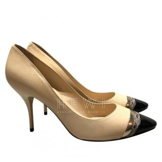Jimmy Choo Cap-Toe Pumps
