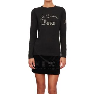 Bella Freud Je T'aime Jane Jumper - New Season