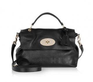 Mulberry Black Postman's Lock Satchel