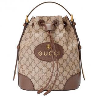 Gucci Monogram Supreme Backpack