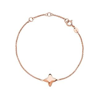 NEW Links of London 18kt Rose Gold Vermeil Four-Point Star Bracelet