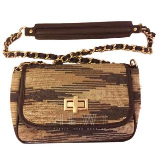 M Missoni Knit Shoulder Bag