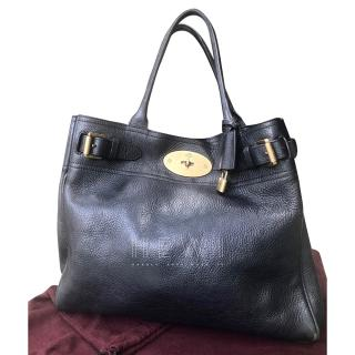 Mulberry Piccadilly Black Leather Weekend Tote