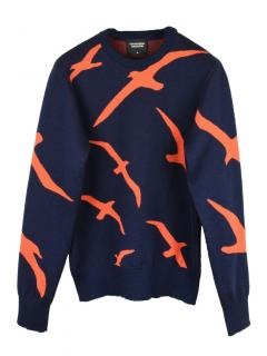 Finisterre x Christopher Raeburn Albatross Knit jumper.