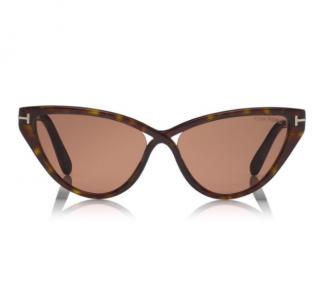 Tom Ford Tortoiseshell Charlie Sunglasses