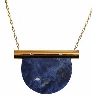 Marion Vidal Blue Joly Necklace