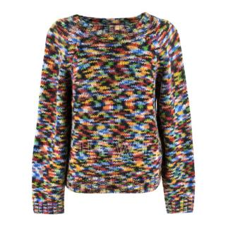 Missoni Multicoloured Zig Zag Knit Sweater